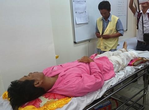 Sản phụ bị xe bồn tông cố nhìn con lần cuối trước khi tắt thở