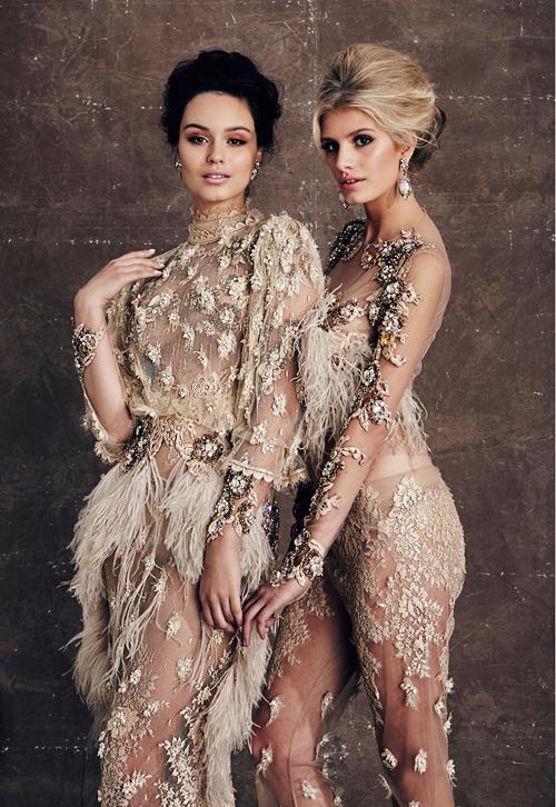 Những chiếc váy cưới tinh xảo và đặc biệt
