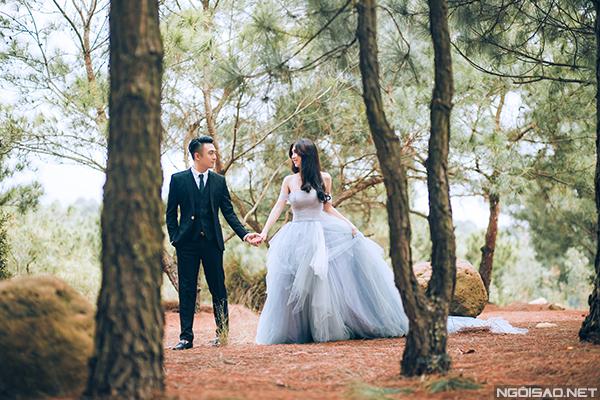 Ảnh cưới đẹp lung linh ở hồ Đại Lải