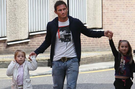 Luna và Isla chính là hai 'vật báu' của Frank Lampard.
