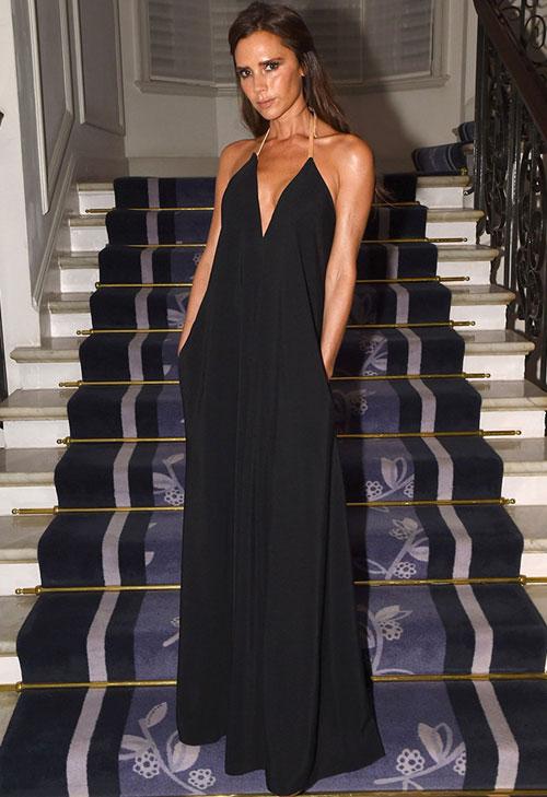 Tối 4/11, Vic tới dự buổi lễ trao giải Người phụ nữ của năm do tạp chí