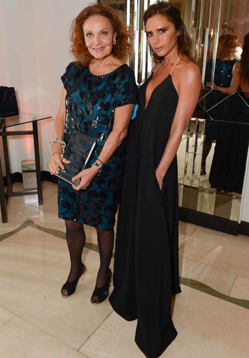 Bà Becks được mời tới để trao giải ở hạng mục Biểu tượng thời trang cho nhà