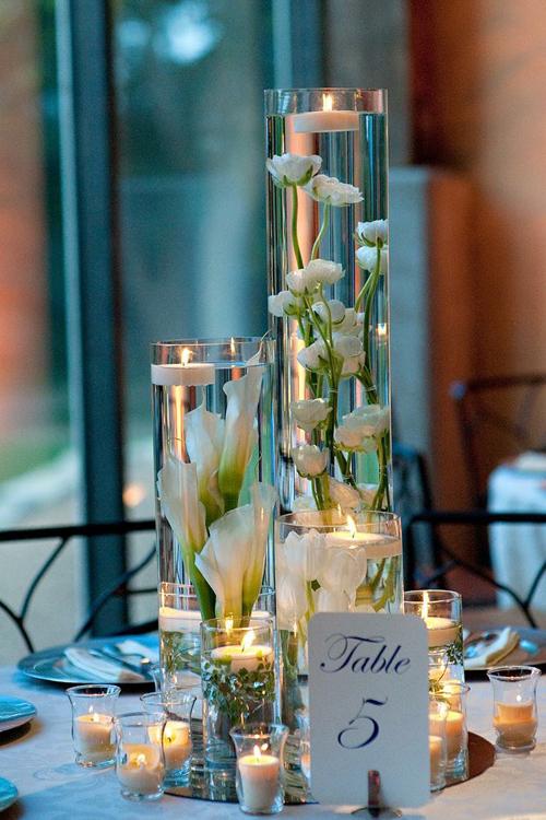 Nến làm đám cưới cuối năm thêm lung linh