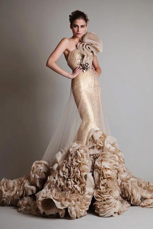 20 váy cưới lộng lẫy cho cô dâu thời trang