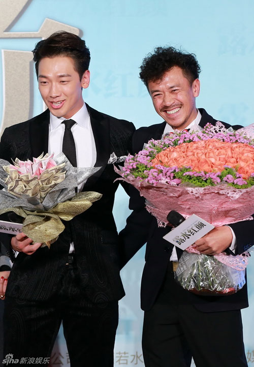 """Hai nam chính của """"Hồng nhan lộ thủy"""", Bi Rain và Vương Học Binh, hai người thủ vai """"tình"""