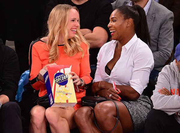 Tay vợt số một thế giới và đồng nghiệp Wozniacki đặc biệt thân thiết thời gian gần đây.