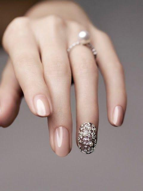 Gợi ý kiểu nail đẹp cho cô dâu khi mùa cưới đến gần