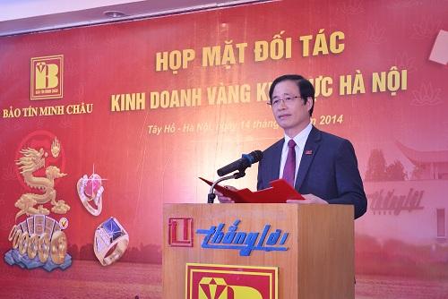 Bảo Tín Minh Châu gặp gỡ đối tác kinh doanh vàng tại Hà Nội