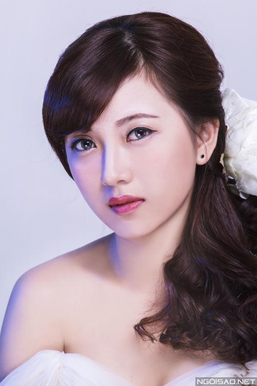 Trang điểm dịu dàng, nữ tính cho cô dâu Việt