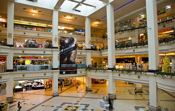 Bên trongKota Raya Complex Shopping. Ảnh: Alfred Molon.