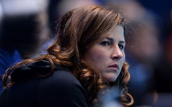 Mirka, bà xã Federer