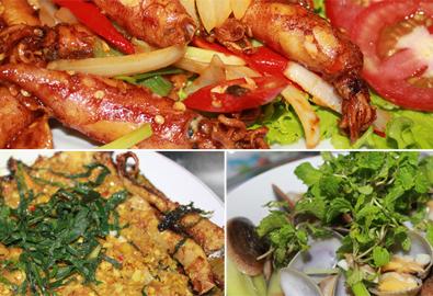 3 món hải sản bình dân hấp dẫn bên bờ biển Cửa Đại
