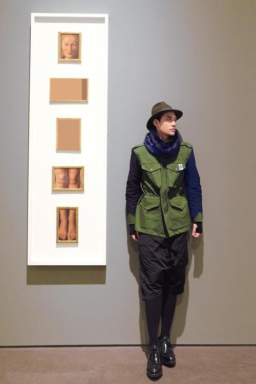 Mùa đông nước Mỹ tạo rất nhiều cảm hứng về thời trang cho Lý Quí Khánh.