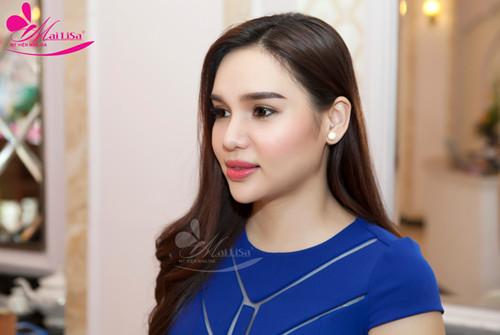 Vẻ đẹp nổi bật của Hoa hậu Diệu Hân - Làm đẹp