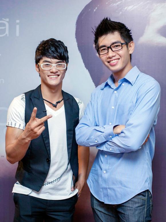 Lâm Vinh Hải và Quang Đăng.