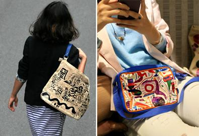 Túi xách ngộ nghĩnh mang nét vẽ của trẻ tự kỷ