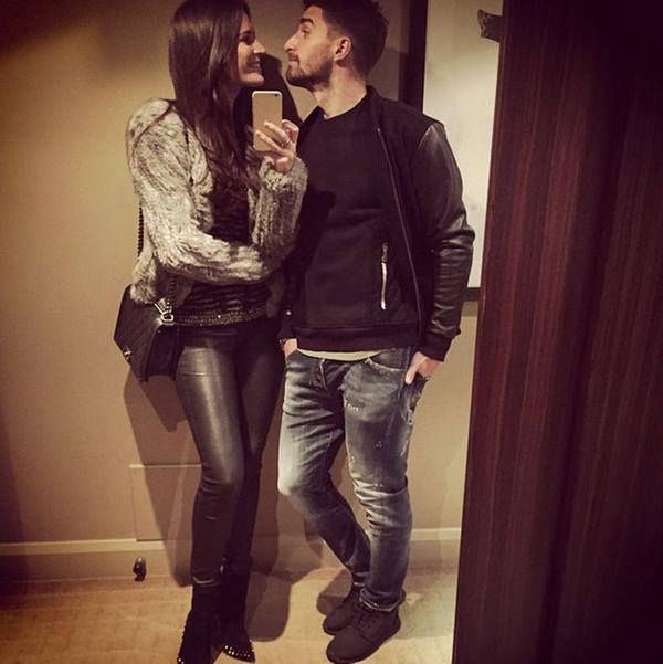 Fabio Borini và vợ sắp cưới Erin O'Neil có chuyến đi trở về Rome, quê nhà của chàng