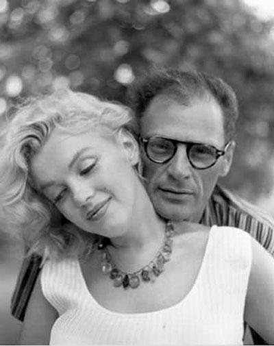 Marilyn Monroe và người chồng thứ ba, Arthur Miller.