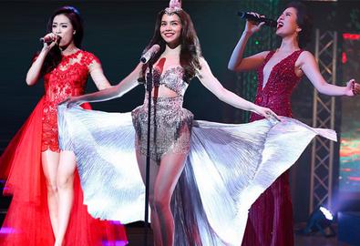 3 nữ hoàng thời trang trên sân khấu nhạc Việt