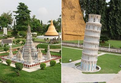 Mini Siam - kỳ quan thu nhỏ của Thái Lan