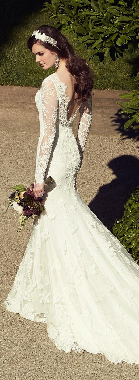 Váy cưới đuôi cá bó sát, đẹp gợi cảm