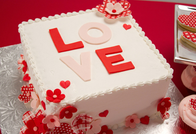 Công thức làm món bánh 'Tình yêu hạnh phúc'