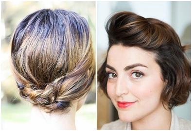 5 cách tạo kiểu đơn giản mà đẹp cho tóc ngắn