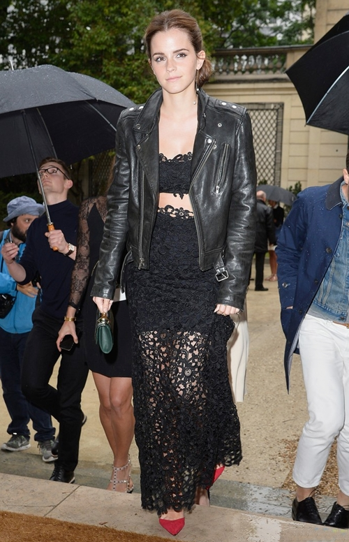 emma-watson-leather-lace-valentino-show-