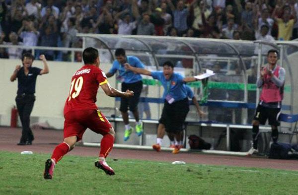 Thành Lương là một trong những cầu thủ chơi hay nhất qua ba trận đấu. Ảnh: Thế Ngọc.
