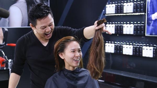 Tập 5 của chương trình Vietnams Next Top Model 2014, dưới bàn tay tài hoa của 3 nhà tạo mẫu tóc, các thí sinh sẽ được thay đổi kiểu tóc với một diện mạo hoàn toàn mới để trở thành những người mẫu chuyên nghiệp.