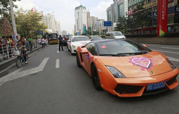 Đám cưới của chú rể Chen Junliang, ông chủ giàu có của một công ty thương mại điện tử,  vừa diễn ra tại thành phố Đông Hoản, tỉnh Quảng Đông, hôm 29/11.