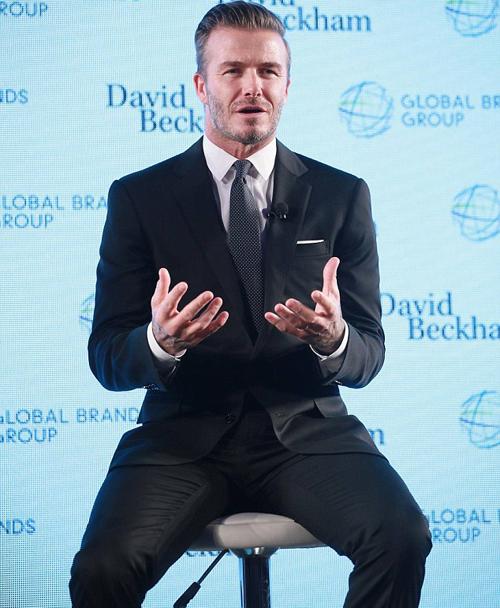 Becks hào hứng chia sẻ về kế hoạch kinh doanh mới tại Hongkong.