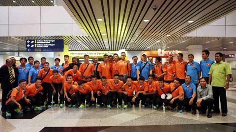 Đội tuyển Việt Nam được đón tiếp chu đáo