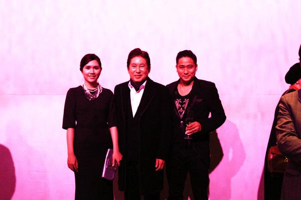 Diễn viên gạo cội Kim Yong Gun vốn là diễn viên mà Minh Tiệp ngưỡng mộ.