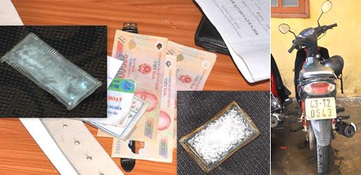 Tang vật, phương tiện vụ án được CQĐT thu giữ.