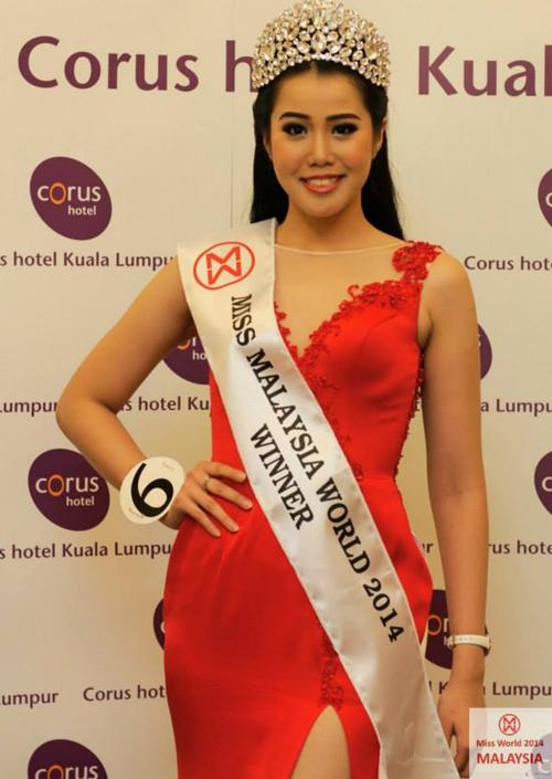 Hoa hậu thế giới của Malaysia