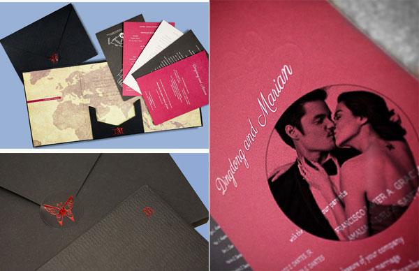 Thiệp cưới cầu kỳ của 'mỹ nhân đẹp nhất Philippines'