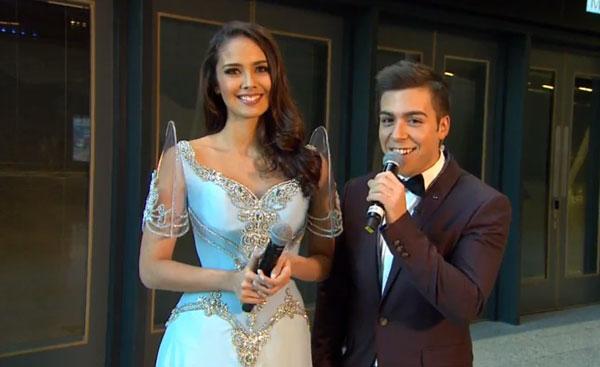 Megan Young tái xuất xinh đẹp tại Miss World 2014