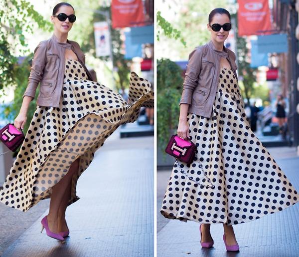 Cùng fashionista Veronica diện thời trang bầu bí tuyệt đẹp 8