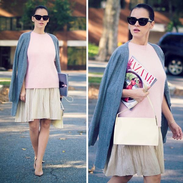 Cùng fashionista Veronica diện thời trang bầu bí tuyệt đẹp 6