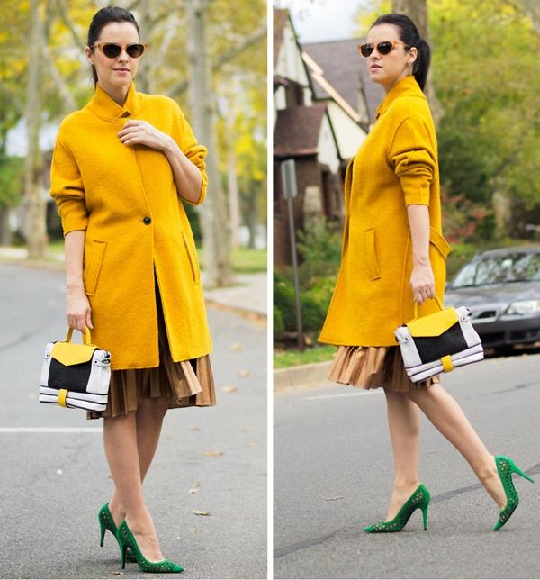 Cùng fashionista Veronica diện thời trang bầu bí tuyệt đẹp 3