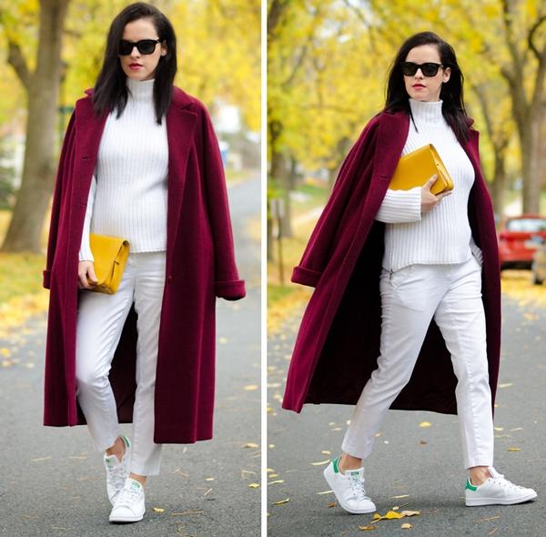Cùng fashionista Veronica diện thời trang bầu bí tuyệt đẹp 4