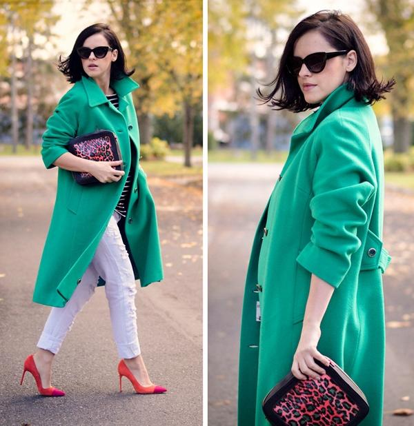 Cùng fashionista Veronica diện thời trang bầu bí tuyệt đẹp 2