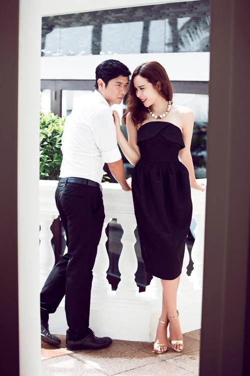 Vợ chồng Lưu Hương Giang như thuở mới yêu