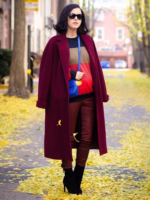 Cùng fashionista Veronica diện thời trang bầu bí tuyệt đẹp 9