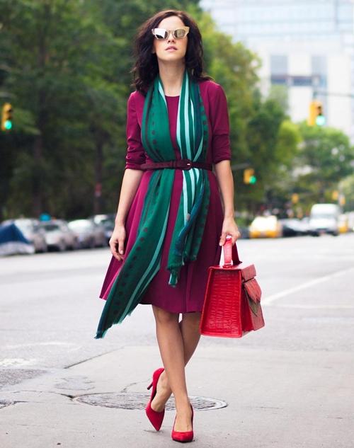 Cùng fashionista Veronica diện thời trang bầu bí tuyệt đẹp 11