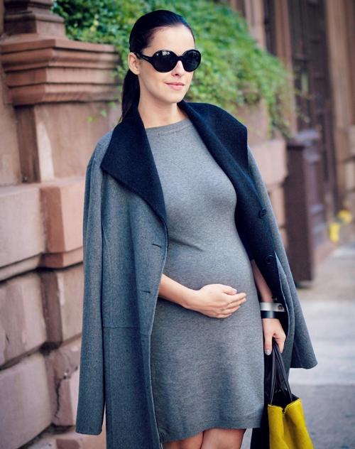Cùng fashionista Veronica diện thời trang bầu bí tuyệt đẹp 13