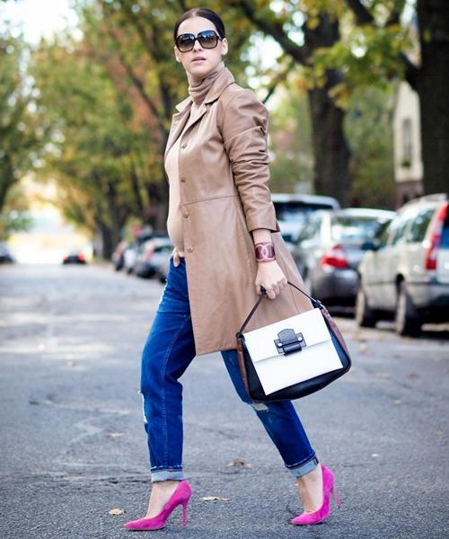 Cùng fashionista Veronica diện thời trang bầu bí tuyệt đẹp 12