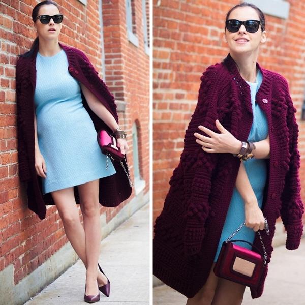 Cùng fashionista Veronica diện thời trang bầu bí tuyệt đẹp