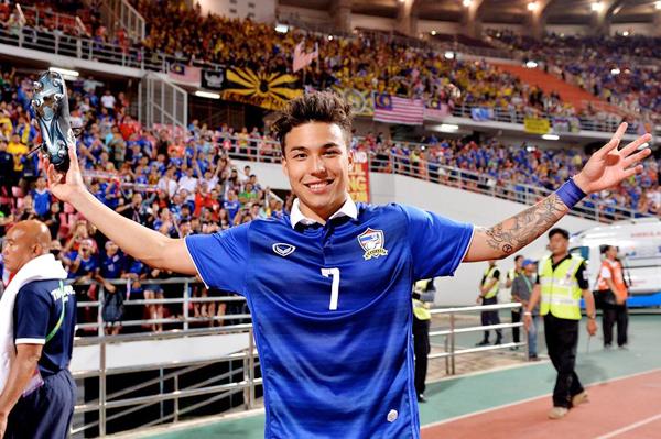 Trong trận chung kết lượt đi với Malaysia hôm qua,